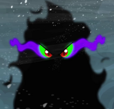 King Sombra shadow form ID S3E01
