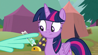 Lightning giving Twilight a half-price ticket S8E20