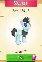 Neon Lights MLP Gameloft