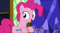 "Pinkie Pie ""standing at the front door"" EGSB"