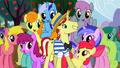 Ponies surrounding Flim S2E15.png