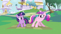 Princess Cadance & young Twilight little shake S2E25.png
