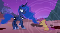 Princess Luna she's waking up S3E6