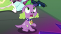 Puppy Spike calls out to Midnight Sparkle EG3.png