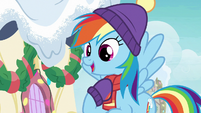 "Rainbow Dash ""I'm the one who can get it"" MLPBGE"