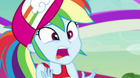 Rainbow Dash gasping dramatically EGSB