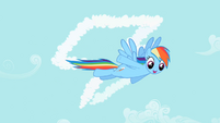 Rainbow Dash happy face S2E8