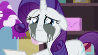 Rarity's mascara starts to run S7E6