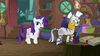 "Rarity ""I was sewing phoenix feathers"" S8E11"