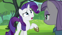 Rarity --look how filthy my hooves are!-- S6E3