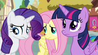 Rarity and Fluttershy feel guilty S4E18