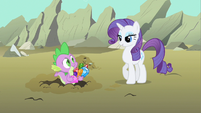 Rarity beautiful pose S1E19