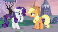 Rarity crying tears of happiness S7E9