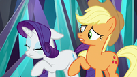 Rarity starting to cry S9E2