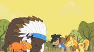 S01E21 Pokój między bizonami a kucykami