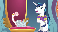 "Shining Armor ""plus they bite"" S9E4"