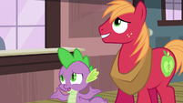 Spike --what are you up to tonight--- S6E17