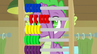 Spike making calculations S9E5