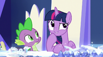"Twilight Sparkle ""connected to the Pillars"" S7E25"