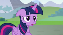 "Twilight Sparkle worried ""me?"" S5E22"