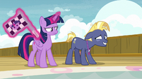 Twilight more annoyed; Star Tracker embarrassed S7E22