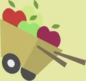Apple Bloom apple cart cutie mark crop S1E12