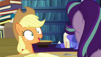 Applejack --however you want me to organize them-- S6E21