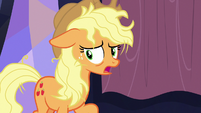 Applejack -I didn't know where else to go!- S7E14