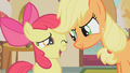 """Applejack and Apple Bloom """"not just an afternoon"""" S01E12.png"""
