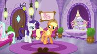 Applejack and Rarity return to the spa S6E10