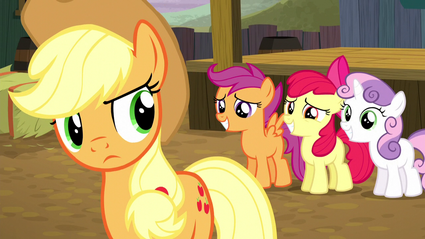 CMCs ask Applejack to compete S5E6
