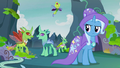 Changelings cheer over Pharynx being gone S7E17.png