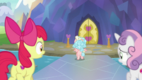 Cozy Glow runs away from the school S8E12