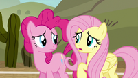 Fluttershy --we've been playing just awful-- S6E18