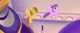 Pegasus mare praising Twilight Sparkle MLPTM