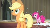 "Pinkie Pie ""perfect right where it is"" S4E06"
