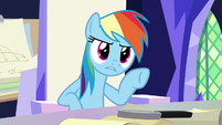 Rainbow -did you just make all that up- S9E4