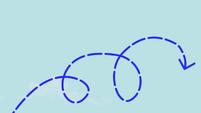 Rainbow Dash's flight path S1E04