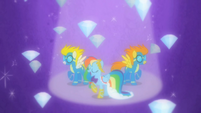 Rainbow Dash Wonderbolts Grand Galloping Gala imagination S1E26