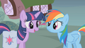 Rainbow Dash and Twilight talk about Fluttershy S1E07.png