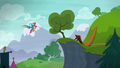 Rainbow carries Scootaloo to a small cliff S6E7.png