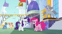 "Rarity ""sounds like your stomach is saying"" S6E12"