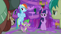 Spike -ran into your rooms- S8E16