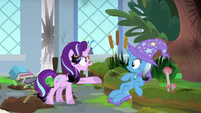 Starlight Glimmier chewing out Trixie S9E20