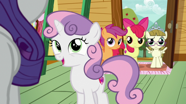 "File:Sweetie Belle ""does sound like a lot of fun"" S7E6.png"