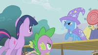 Trixie challenging Twilight S1E06