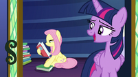 "Twilight Sparkle ""good night, Fluttershy"" S7E20"