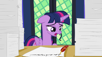 Twilight Sparkle -too many princess duties- S7E22