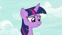 Twilight Sparkle a little disappointed S7E14