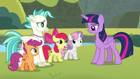"Apple Bloom ""a seapony in Seaquestria"" S8E6"